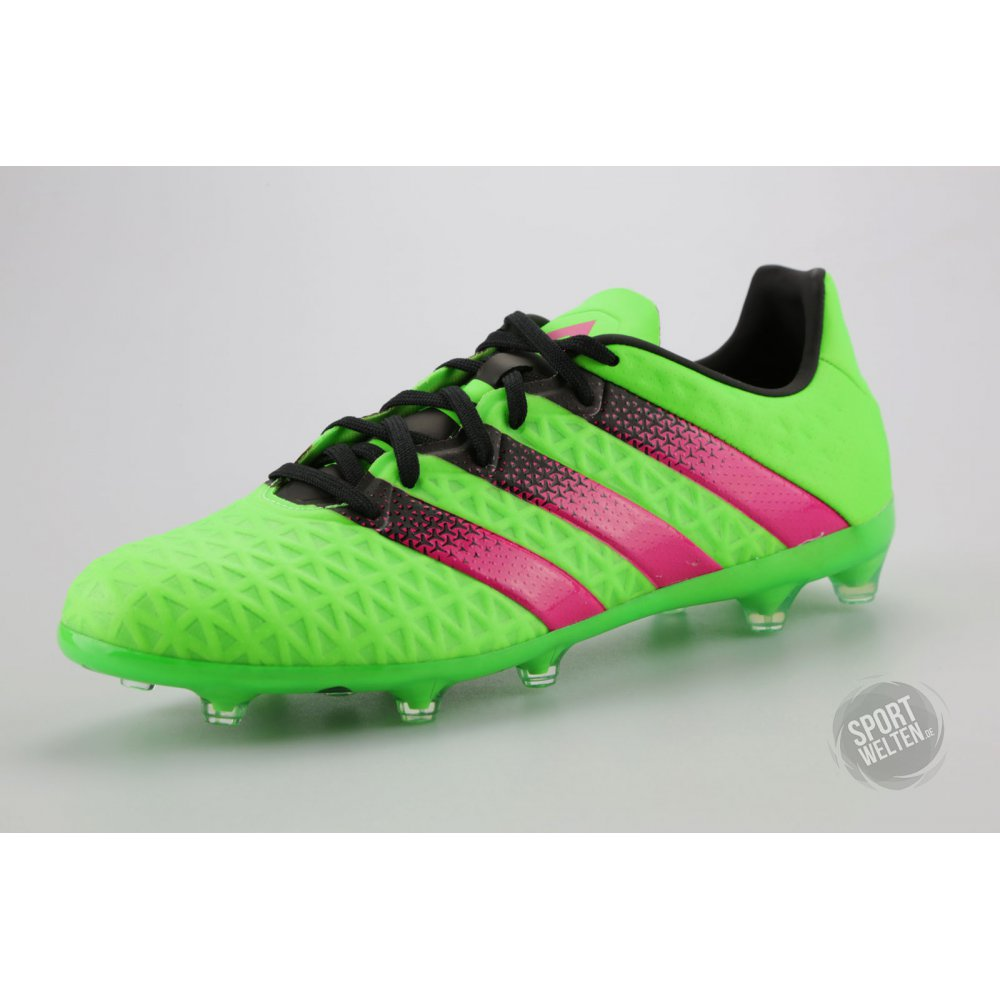 adidas fussballschuhe nocken ace 16 2 fg ag gr n pink. Black Bedroom Furniture Sets. Home Design Ideas