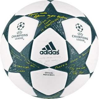 ADIDAS Spielball UEFA CHAMPIONS LEAGUE FINALE 16 OMB -...
