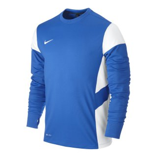 NIKE Trainingspullover MIDLAYER TOP - Blau/Weiss