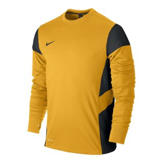NIKE Trainingspullover MIDLAYER TOP - Gelb/Schwarz