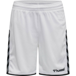 HUMMEL KINDER AUTHENTIC Poly Short - Weiss 128