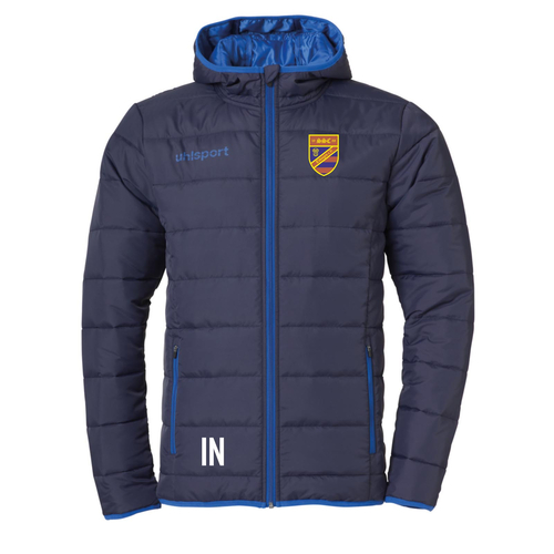 UHLSPORT ESSENTIAL Ultra Lite Down Jacket (inkl. Bedruckung) - Marine