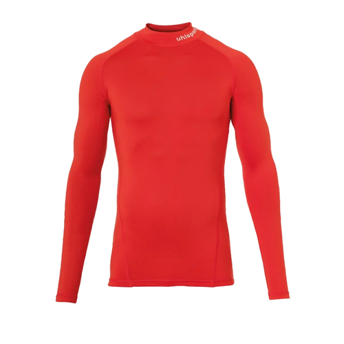 UHLSPORT Pro Baselayer mit Kragen DISTINCTION - rot