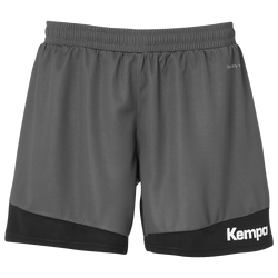 KEMPA DAMEN Shorts EMOTION 2.0 - Anthrazit / Schwarz